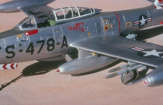 F-84E Cockpit area