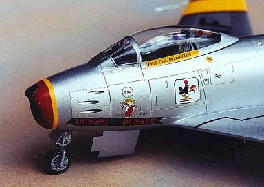 F-86 Sabre cockpit
