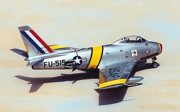 F-86 Sabre starboard rear