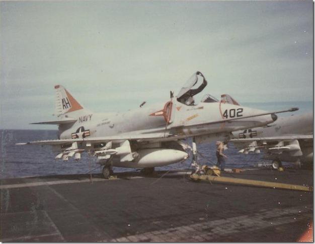 A-4E of VA-164 in Oct 1965