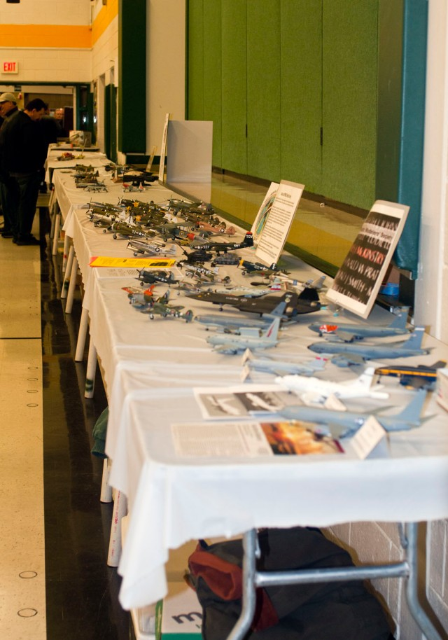 Panorama of the whole table