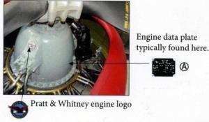 And Pratt & Whitney logo decals.